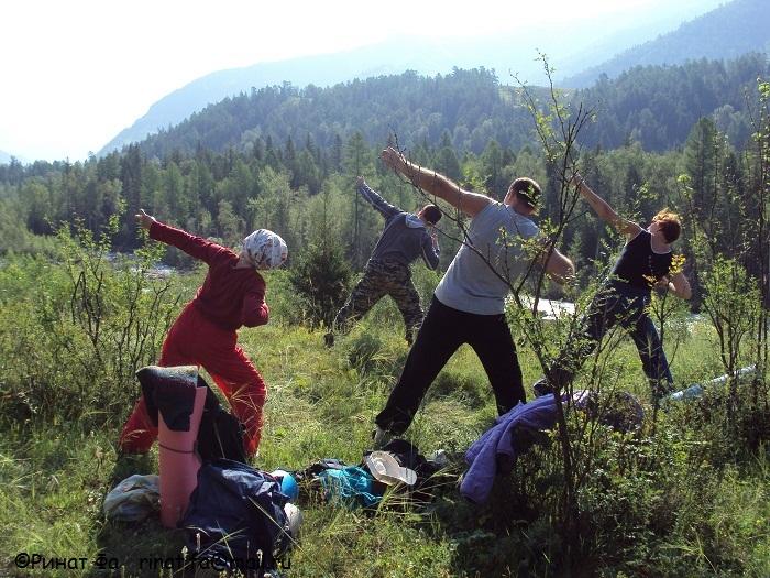 Оздоровительный цигун на реке Катунь с 15-26 июля